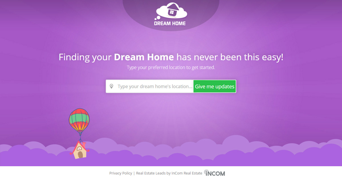 Dream home finding your dream home has never been this easy for Dream home search